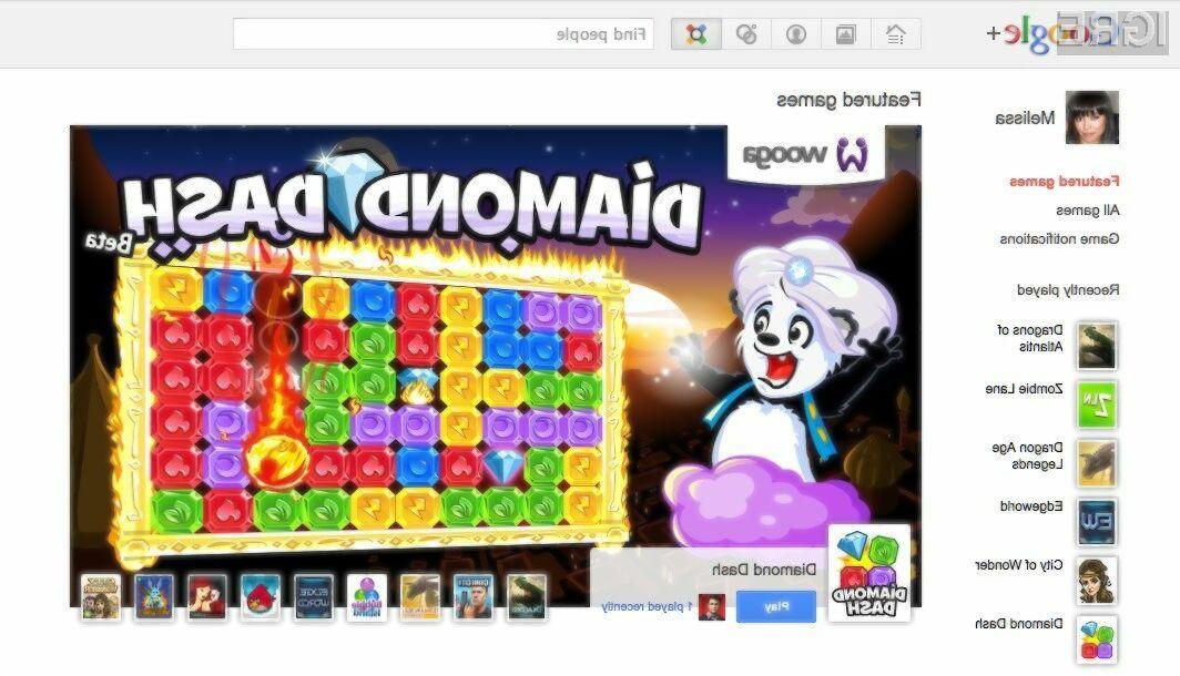 Marsikateri uporabnik Googla+ bo iger zelo vesel.