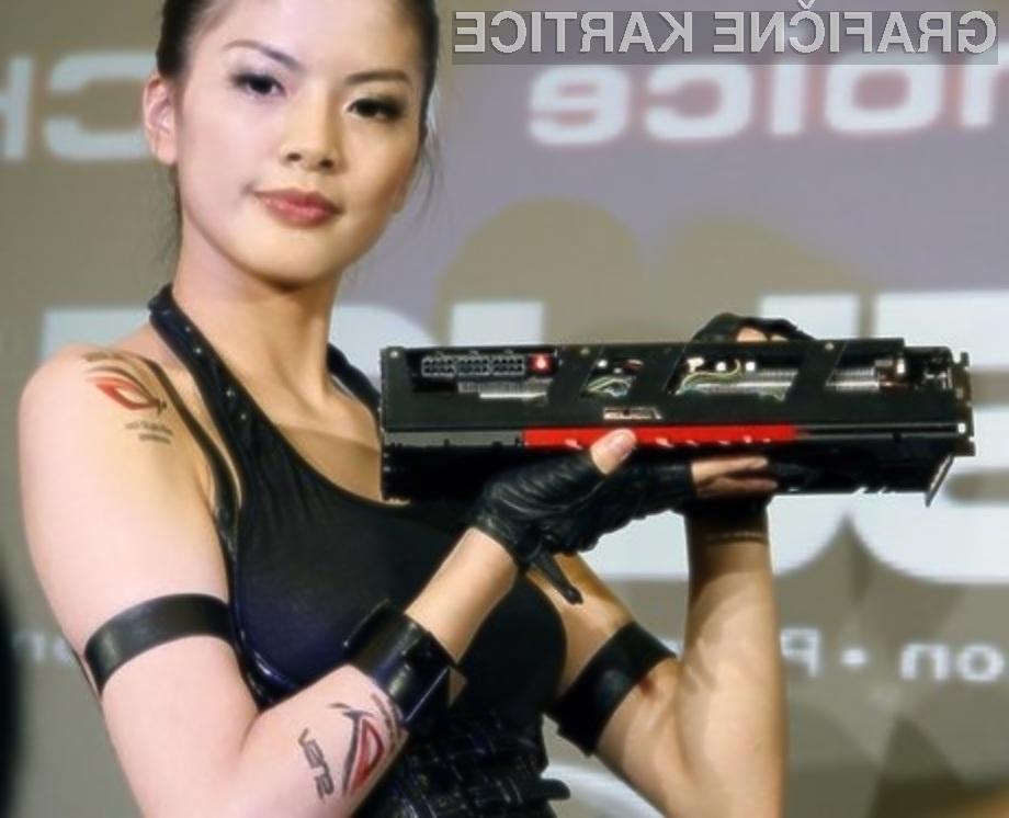 Nadpovprečno zmogljiva grafična kartica Asus Mars II je opremljena z dvema grafičnima jedroma GeForce GTX 580.