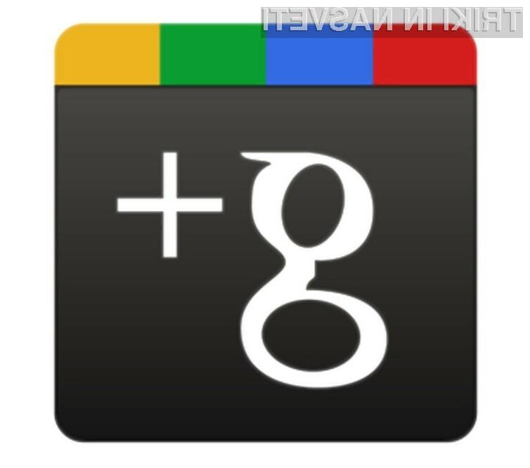 Družbeno omrežje Google+ odslej omogoča tako enostavno preziranje kot blokiranje uporabnikov.