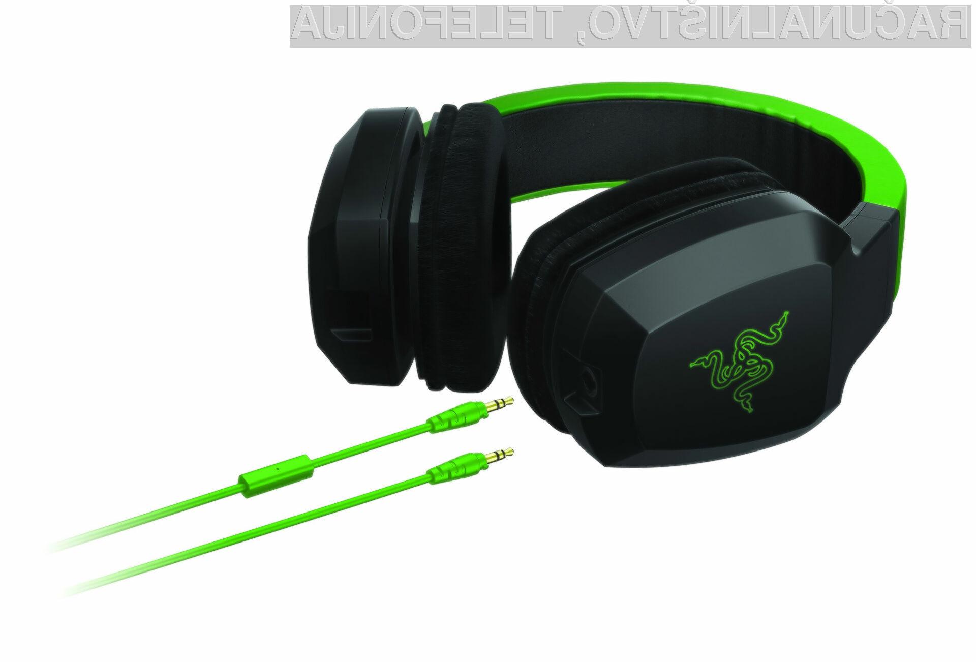 Razerjeve slušalke prinašajo udaren bas in kompaktno obliko, primerno za mobilne podvige.