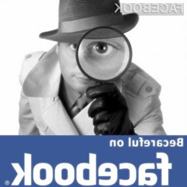 Facebook zelo rad vohuni za uporabniki!