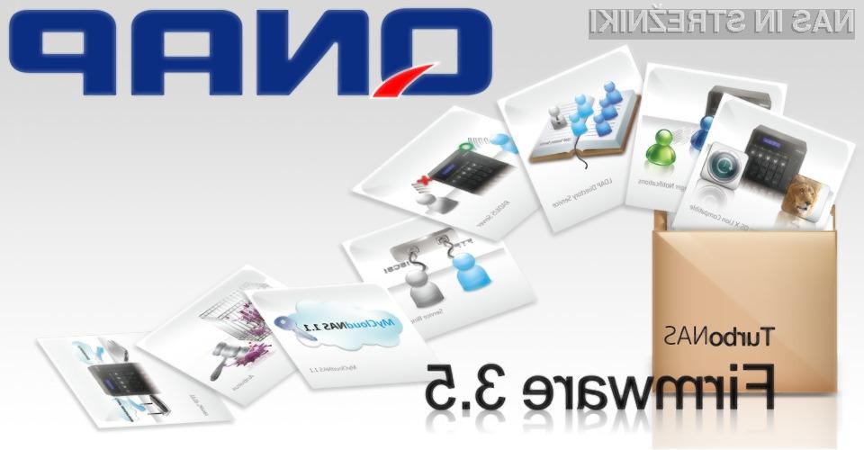Najbolj dobrodošli funkcionalnosti v novi različici v3.5 sta iSCSI LUN Snapshot in njegovo arhiviranje, ter vgrajen brezplačni antivirusni sistem.