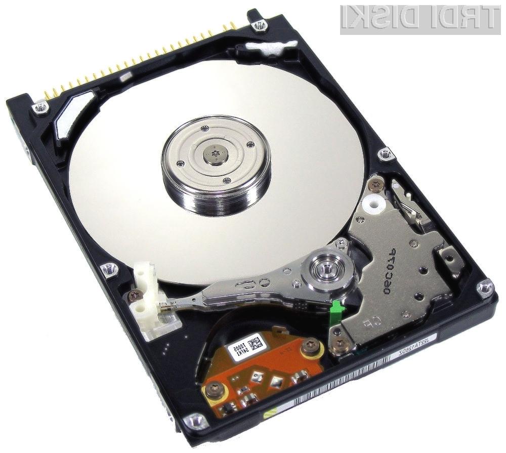 Trdi diski Western Digital kapacitete 5 TB bodo naprodaj šele čez slabo leto dni.