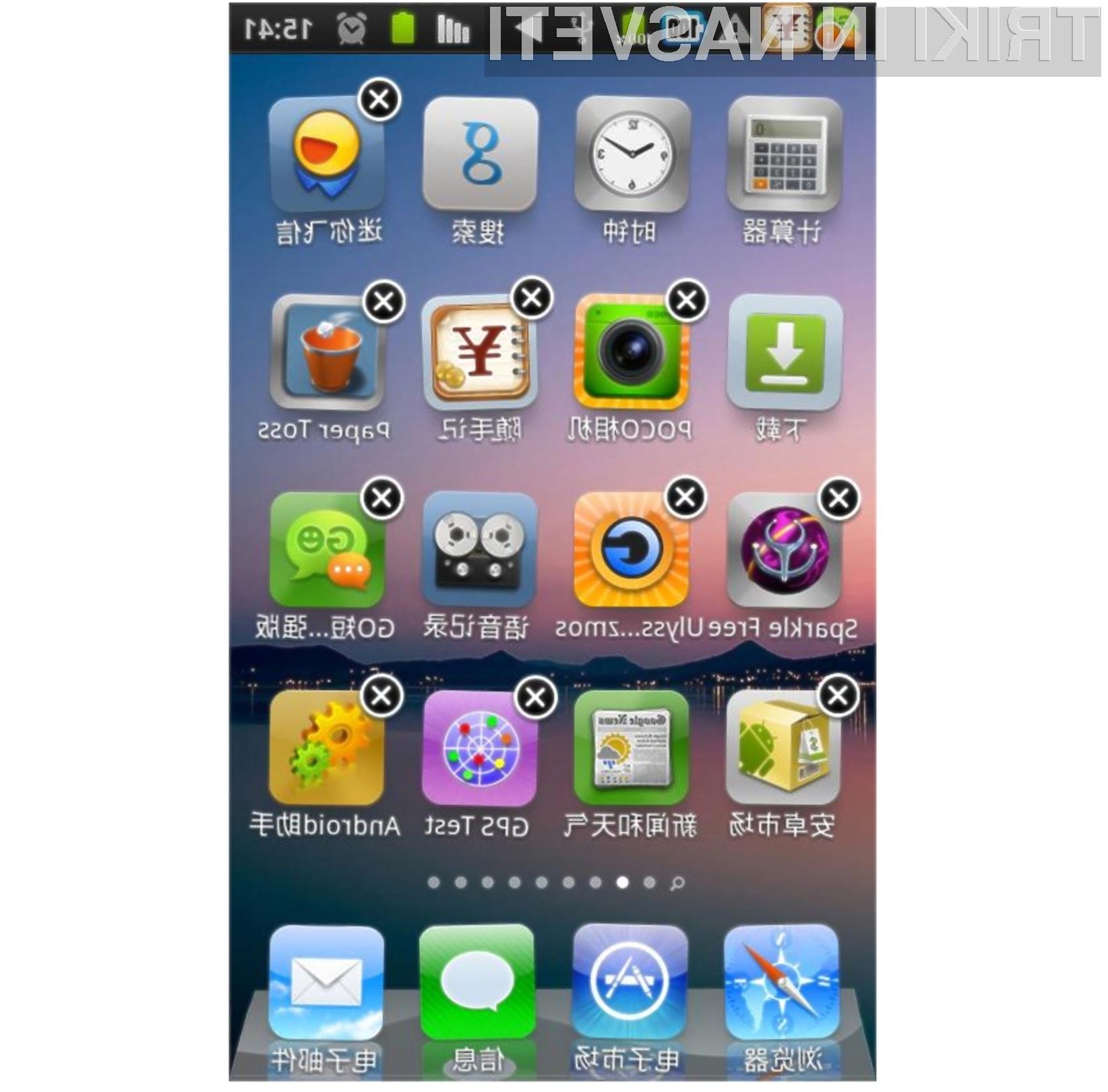 Fleksibilnost Androida in uporabnost iOSa v enem.