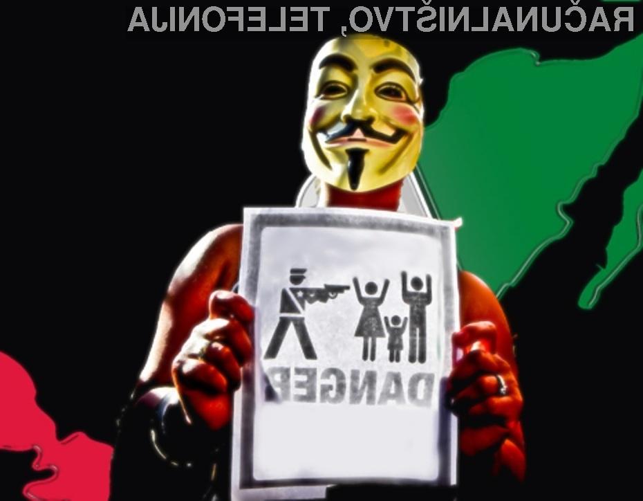 Hekerska skupina Anonymous zaradi groženj ni objavila seznama vseh, ki sodelujejo s kartelom Zetas.