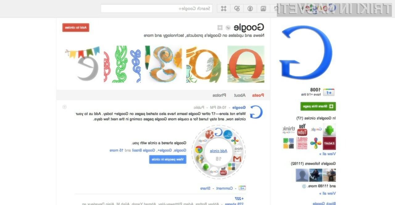 Google je omogočil integracijo vseh vrst tako imenovanih badgetov (značk) na vašo spletno stran ali blog, s čimer vam bodo prijatelji še lažje sledili na Googlovi družbeni mreži.
