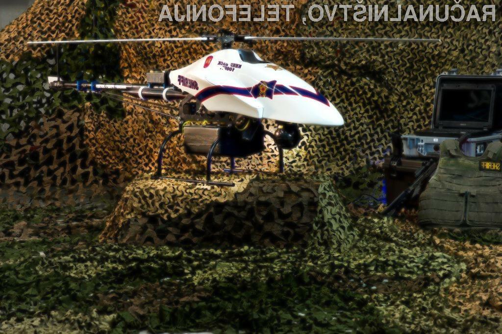 Oboroženi helikopterski robot je kot nalašč za boj proti nelegalnim pribežnikom in tihotapcem mamil.