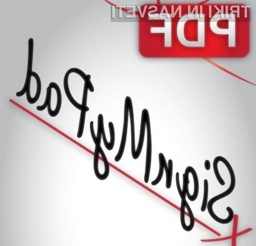 S programom SignMyPad je podpisovanje dokumentov PDF pravi mačji kašelj.