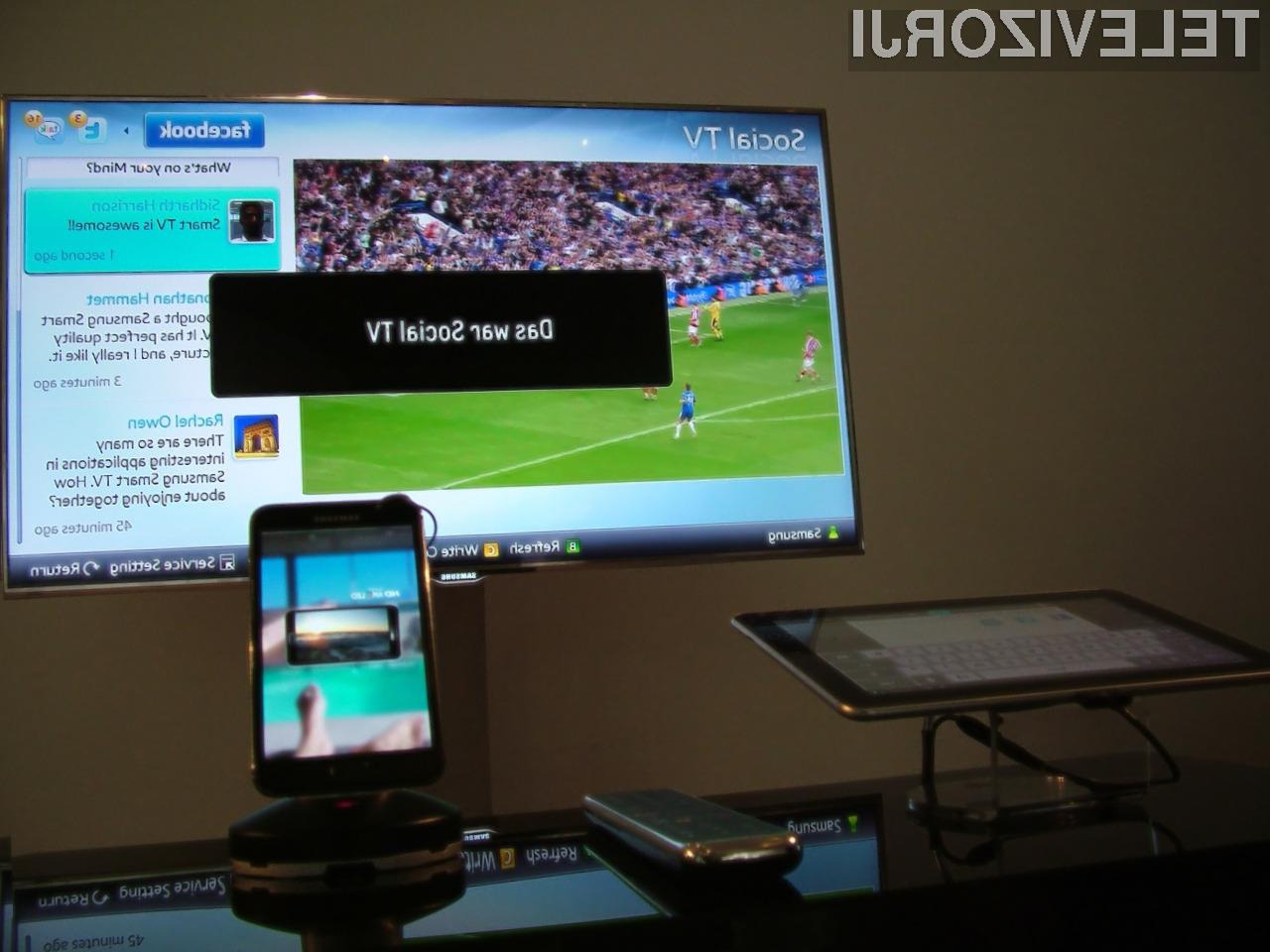 Konvergenca tehnologij po Samsungovo!