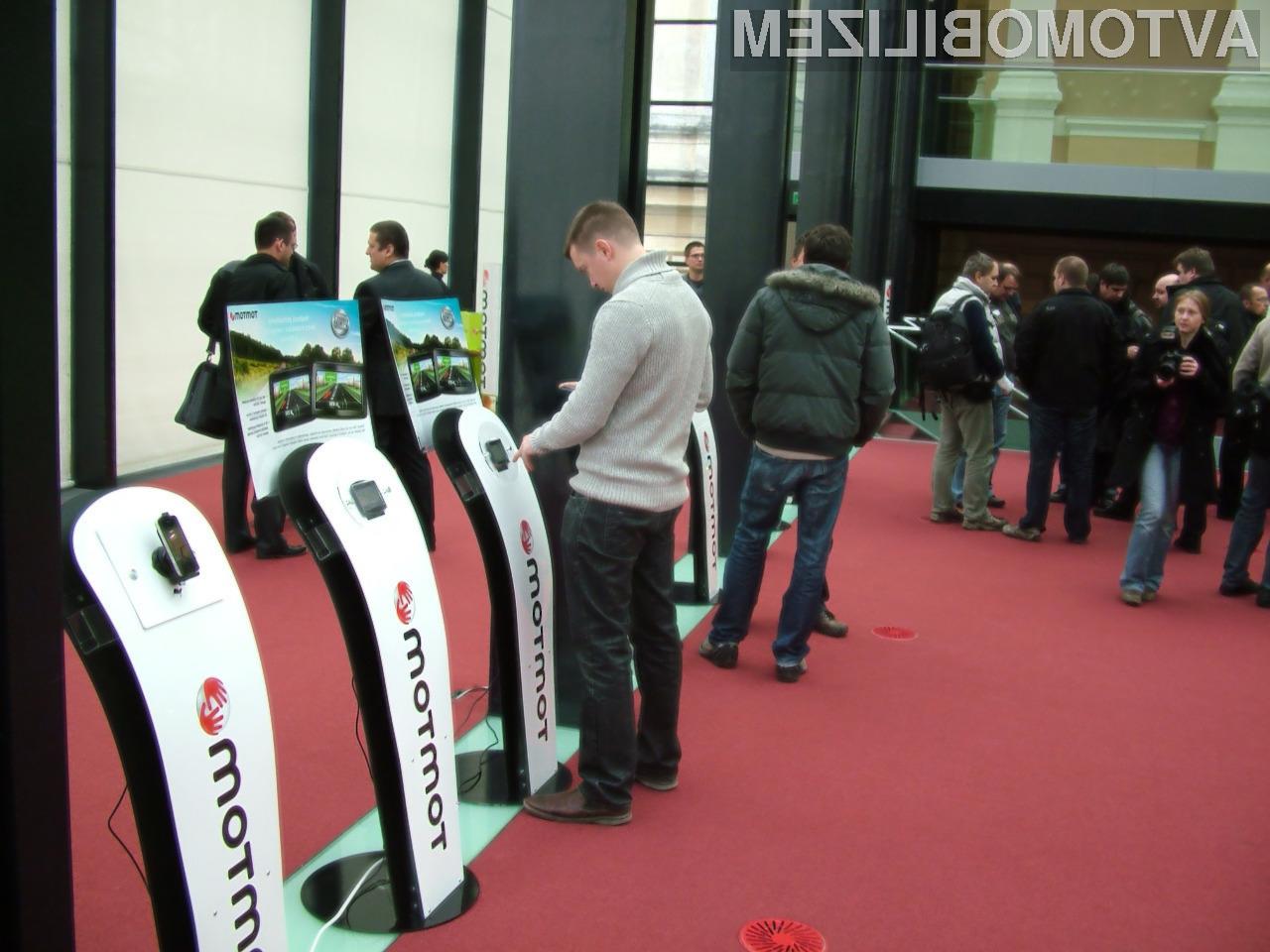 TomTom naznanil svoje produkte tudi na slovenskem trgu