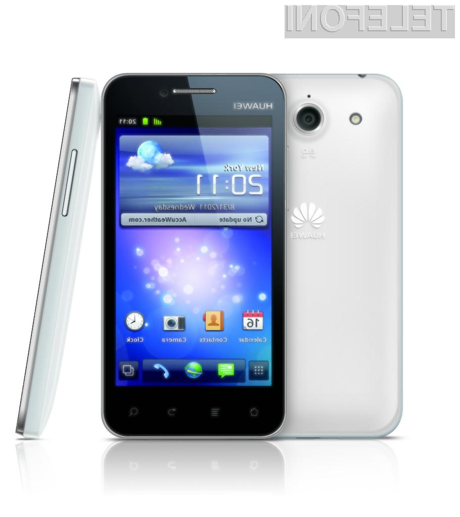 Zanji Huaweijev mobilnik je Mercury (na sliki).