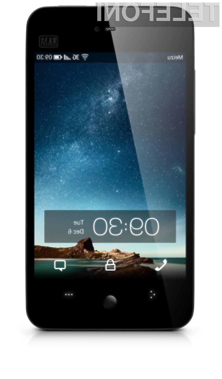 Meizu MX je precej drag Android pametni telefon za kitajsko tržišče (350 evrov).