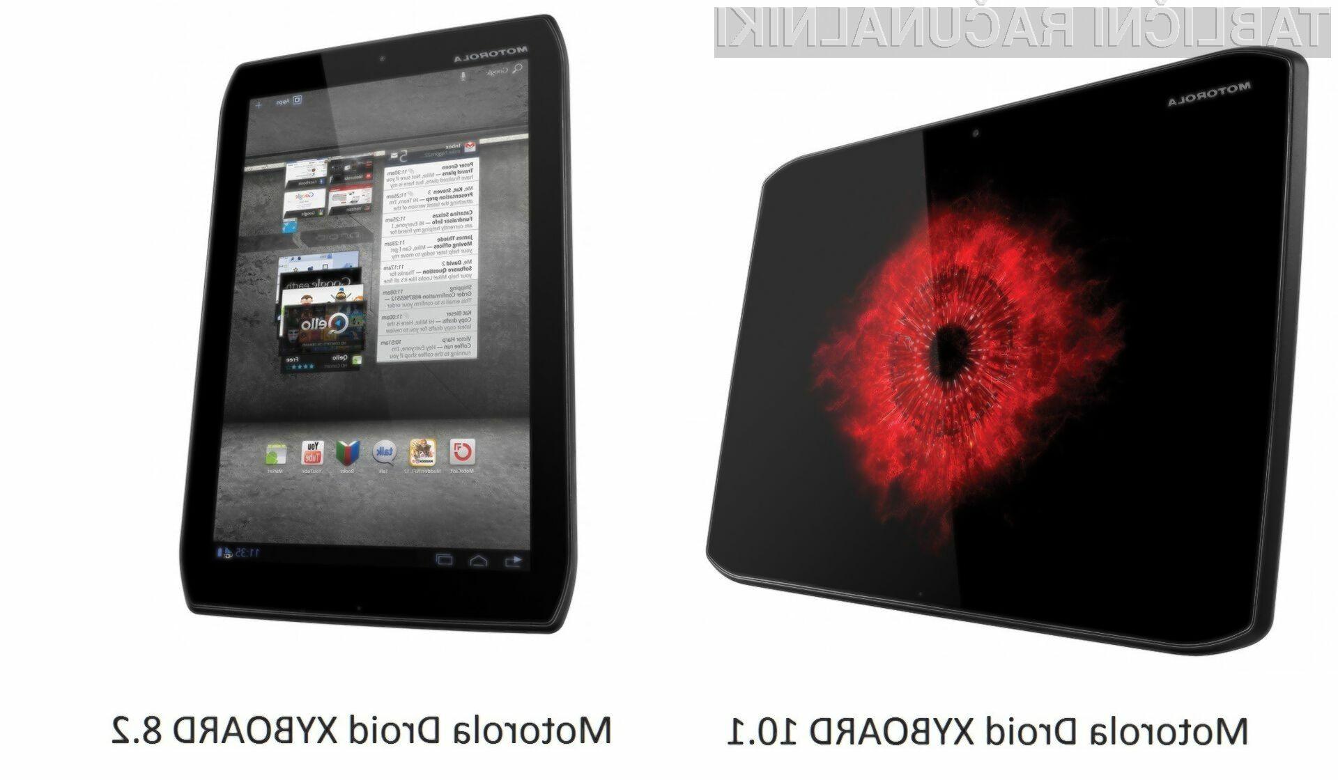 Nova tablična računalnika Xyboards v dveh velikostih zaslona 10.1 in 8.2 centimetra,  naj bi bistveno izboljšala prodajne rezultate predhodnika Xoom.