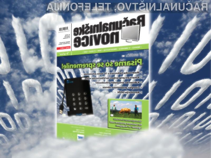 V novi rubriki »Tehnologija slavnih« ne zamudite zabaven intervju z glasbeno zasedbo Slon in Sadež.