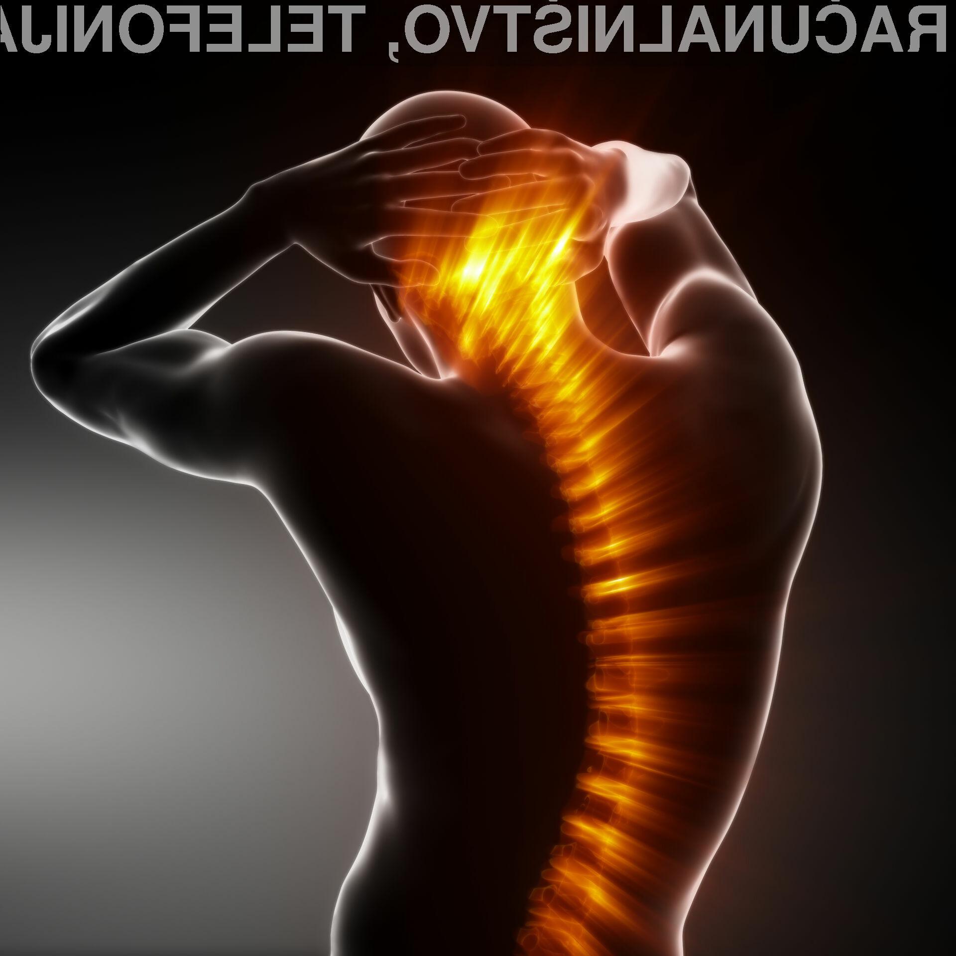 Zdravstvena težava se pojavlja večinoma pri ljudeh,  ki preživijo dalj časa v istem položaju in sicer sključeni z glavo naprej, medtem ko uporabljajo svoj tablični računalnik ali pametni telefon.