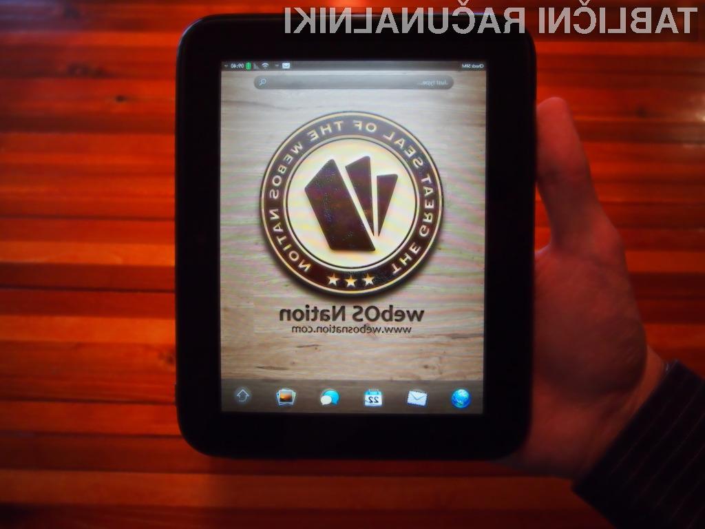 WebOS Nation-u je v roke uspelo dobiti nikoli izdan model HP-jeve tablice TouchPad GO.
