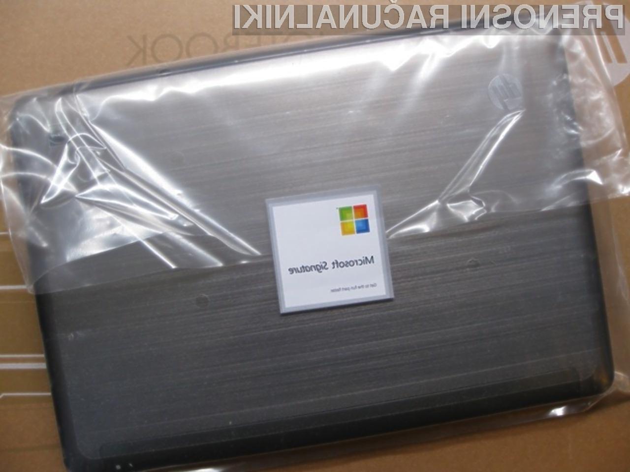 S certifikatom Microsoft Signature bodo opremljeni le najboljši računalniški sistemi.