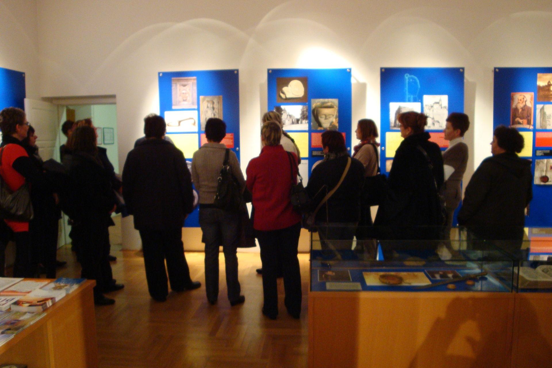 Udeleženci SAOP konference so si ogldali tudi muzej