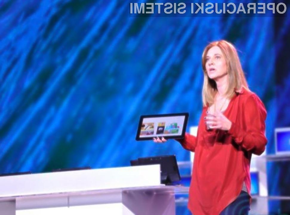 Cenenih tabličnih računalnikov z nameščenim operacijskim sistemom Windows 8 ne bo!