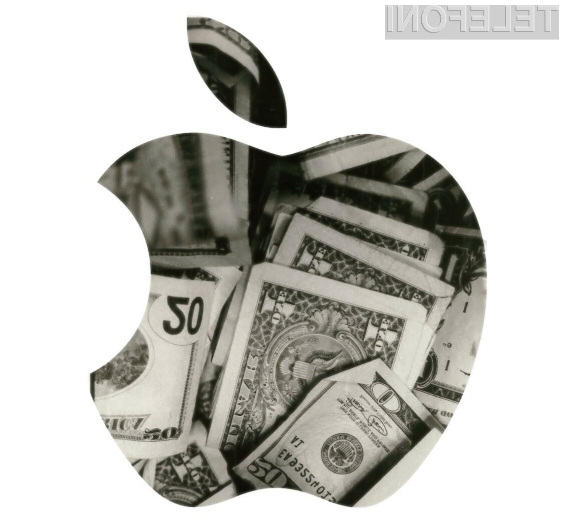 Podjetja Apple se svetovna in gospodarska kriza nista niti dotaknili!