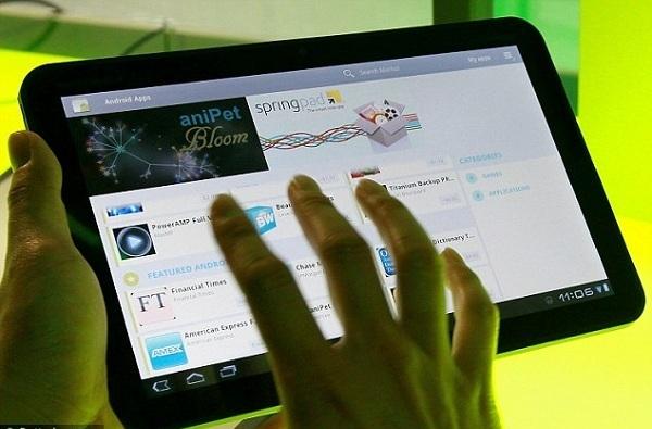 Googlov tablični računalnik naj bi bil povsem prilagojen Androidu 4.0 Ice Cream Sandwich.