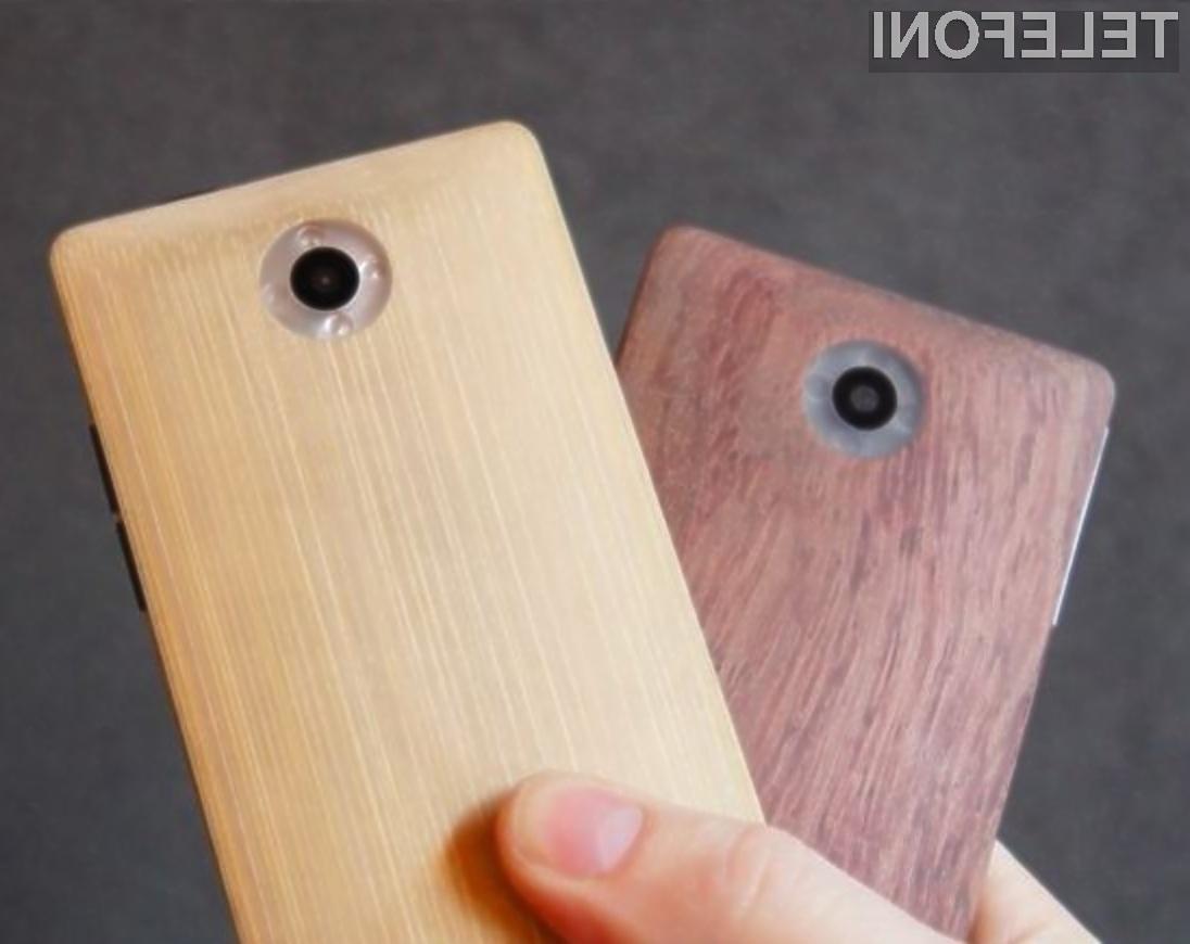 Čeprav je ohišje mobilnika izdelano iz lesa, je to odporno tako na padce kot udarce!