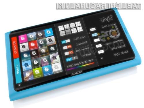 Nokiin tablični računalnik naj bi bil precej podoben mobilnemu telefonu Lumia 800.