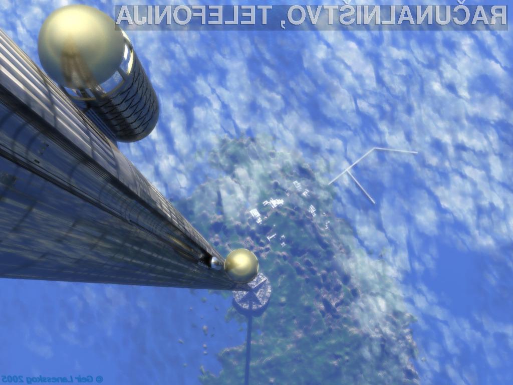 Se bomo do vesolja popeljali kar z dvigalom?