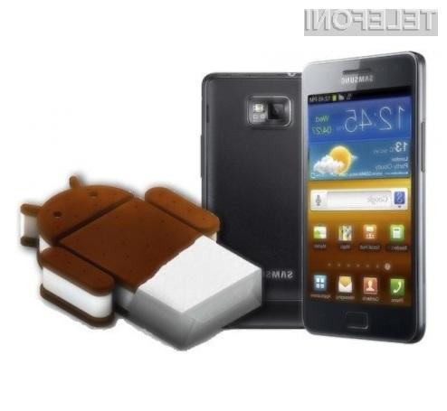 Android 4.0.3 Ice Cream Sandwich se odlično prilega mobilniku Samsung Galaxy S2!