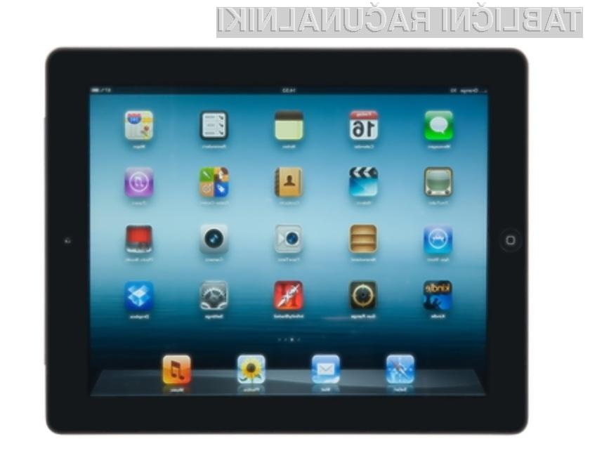 Nova tablica iPad pri delovanju porabi več električne energije, kot ji lahko zagotovi polnilec.