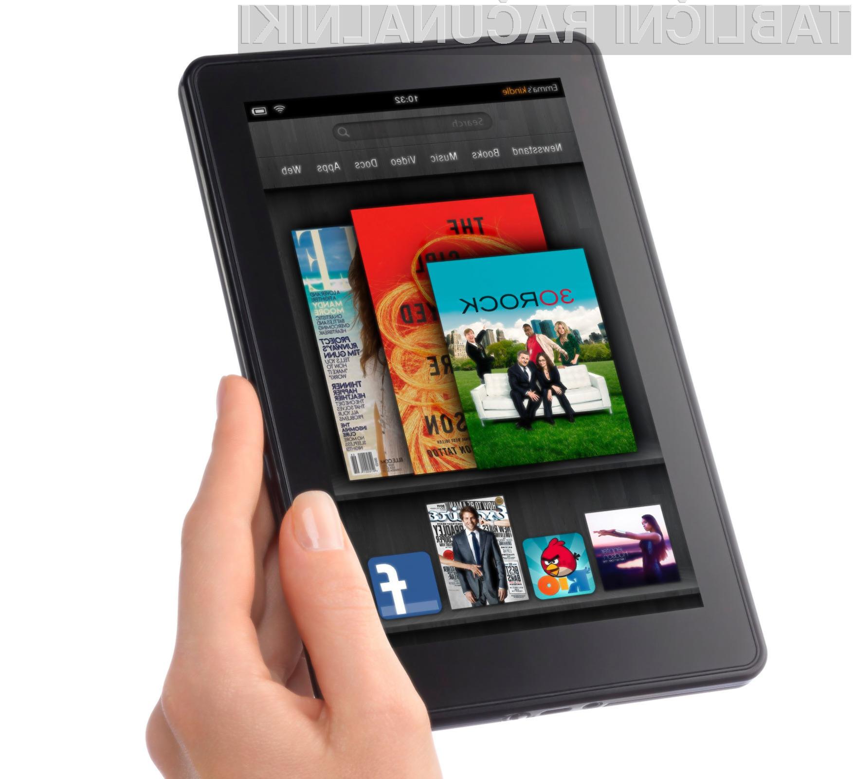Kindle Fire po popularnosti precej zaostaja za iPadi. Se bo letos to spremenilo?