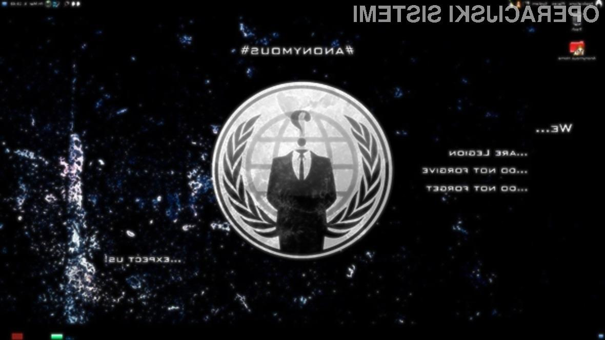 Hekerska skupina Anonymous je že zanikala, da je sodelovala pri pripravi hekerskega operacijskega sistema!