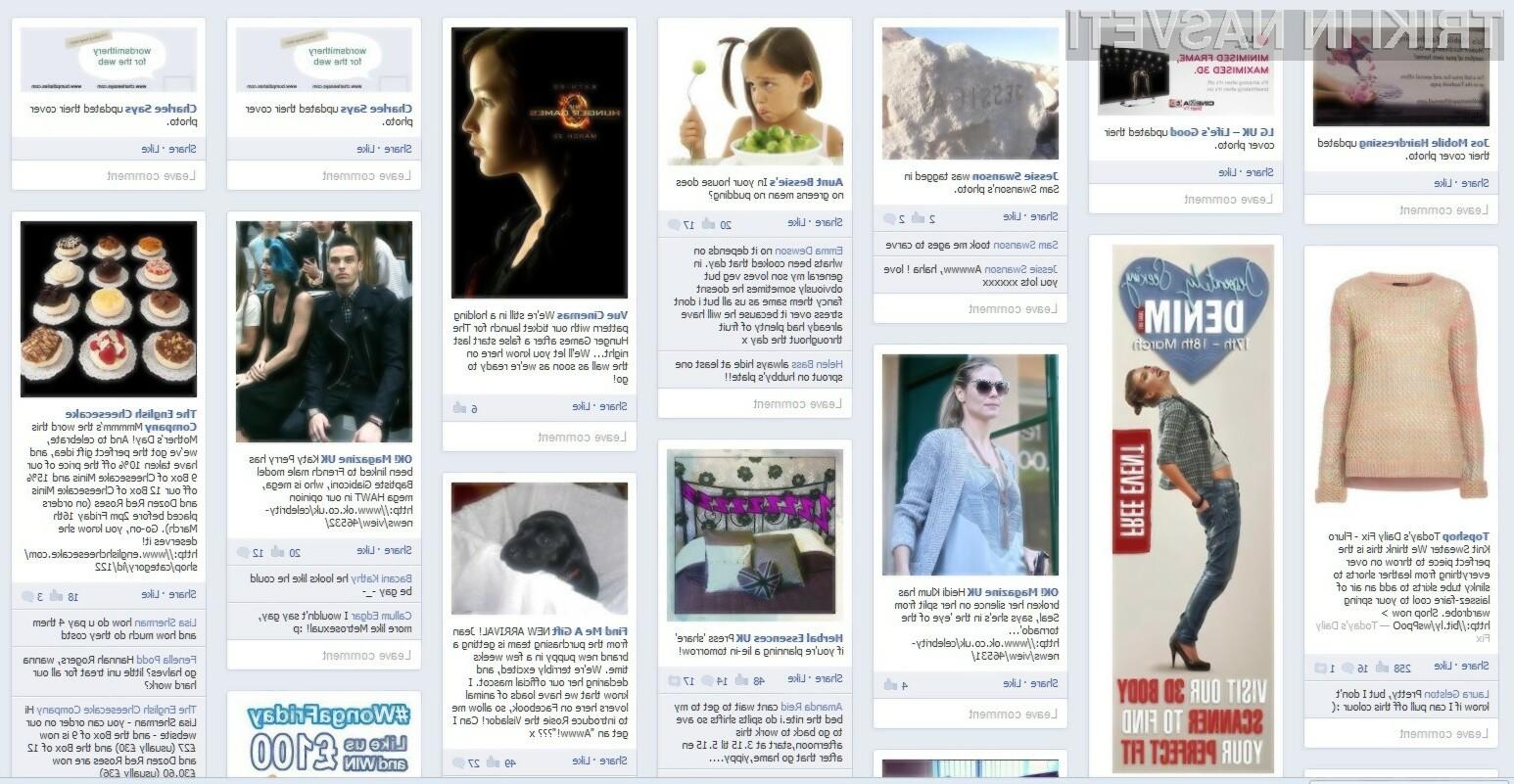 Friendsheet deluje na način, da prevzema fotografije in jih prikazuje v obliki privlačnega grafičnega vmesnika.
