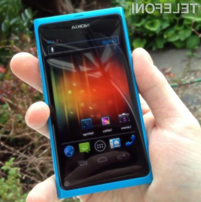 Glede na odsotnost fizičnih tipk, je Nokia N9 idealen kandidat za operacijski sistem Android.