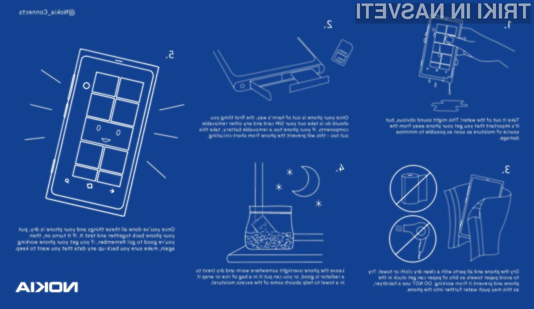 Pet preprostih korakov do oživitve vašega telefona.