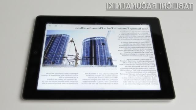 Boste več ur čakali v vrsti, da boste med prvimi kupci novega Applovega tabličnega računalnika iPad pri nas?