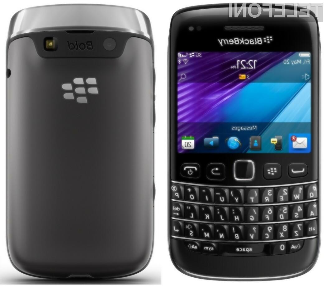 Mobilniki BlackBerry (na sliki Bold 9790) so na trgu mobilne telefonije pustili precejšen pečat.