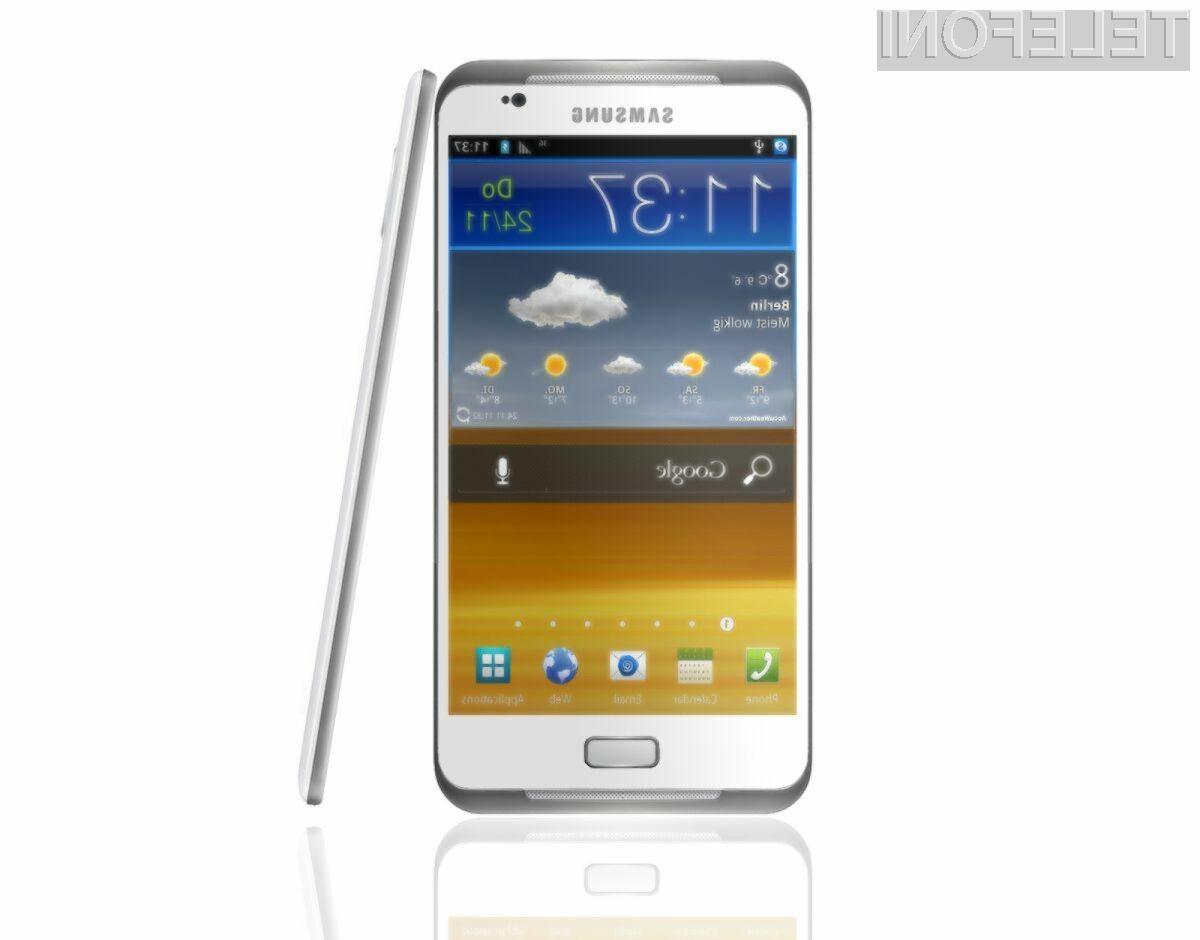 Galaxy S III bi lahko imel 4,8-palčni zaslon, ki bi ga obdajal izjemno tanek rob ohišja.