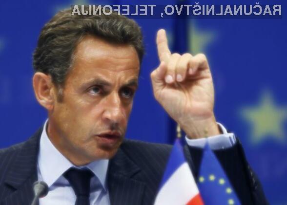 Francoski predsednik Nikolas Sarkozy je veliki ljubitelj cenzure in nadzora svetovnega spleta!