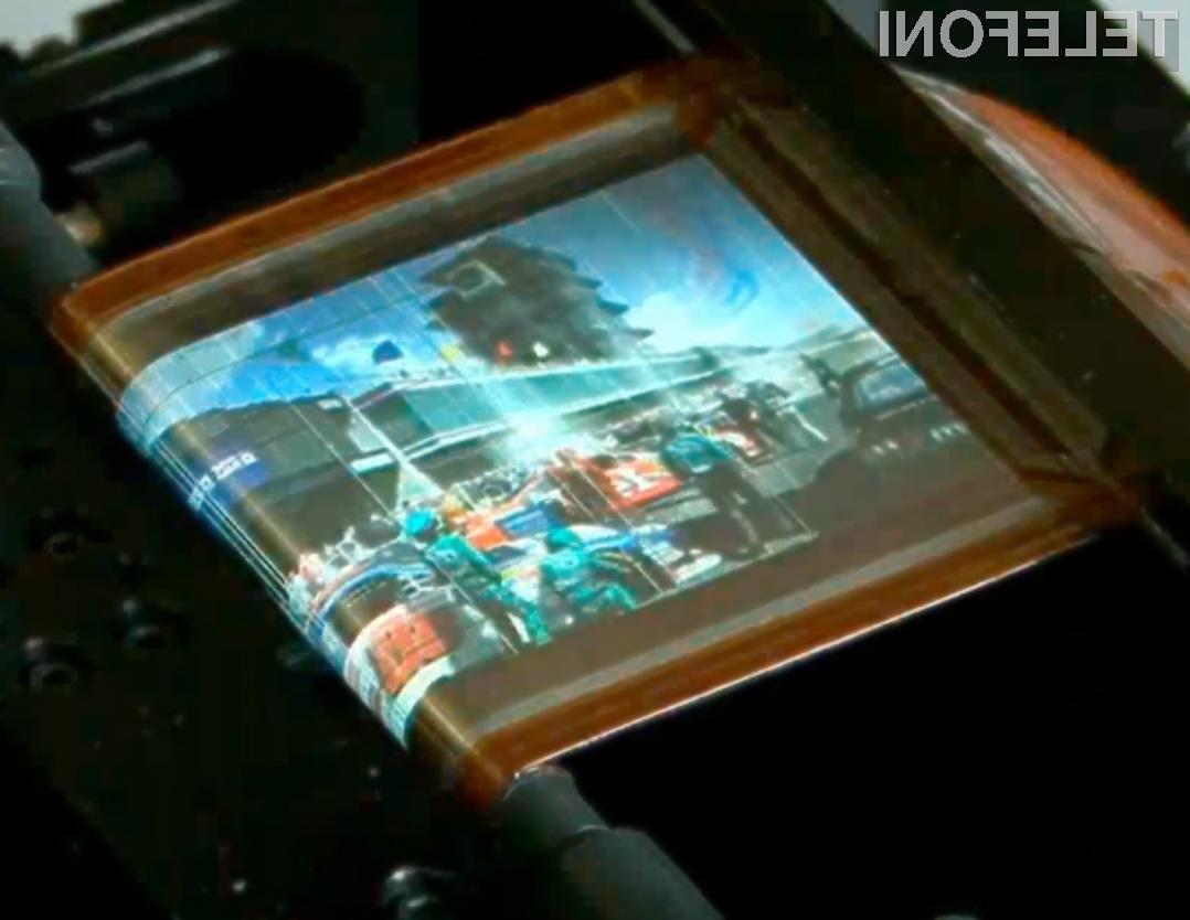 Bo novi Samsungov zaslon prinesel revolucionarne dodatke za mobilne naprave?