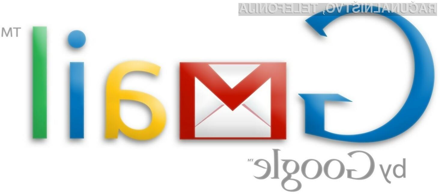 Gmail bo odslej nudil kar 10 GB prostora za elektronska sporočila.