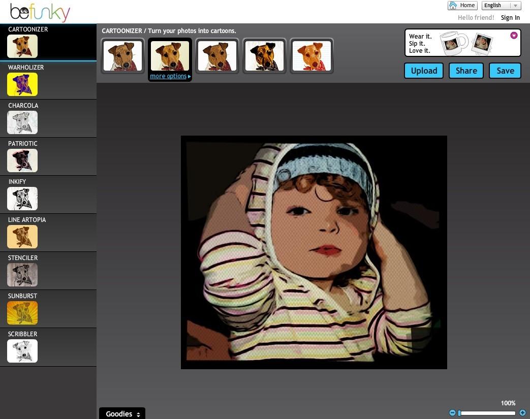 Zakaj bi kupovali drago programsko opremo, če lahko svoje slike urejate kar preko spleta?