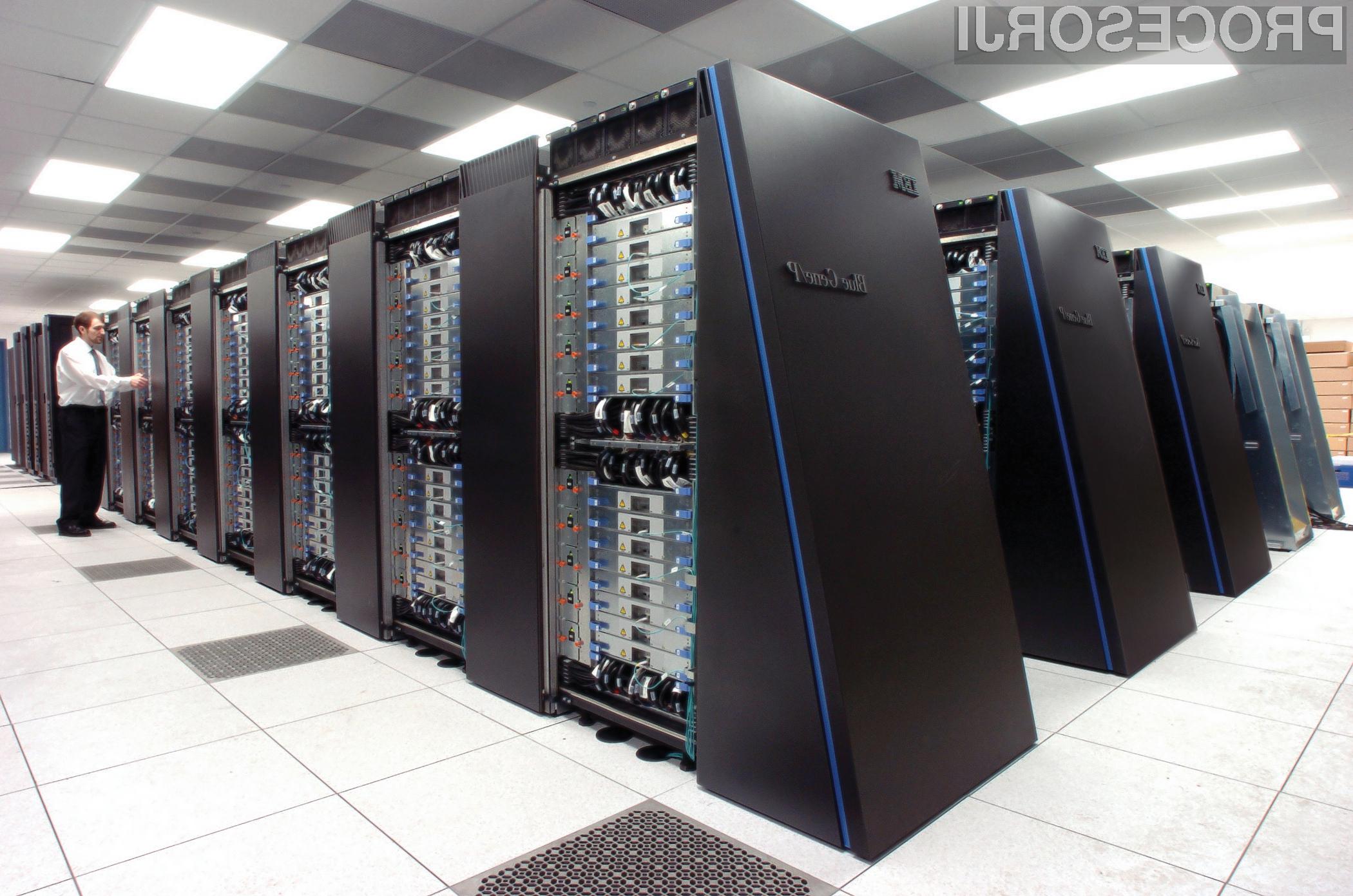 Superračunalnik IBM bo lahko na dan preračunal dvakrat toliko podatkov, kot se jih trenutno na dan pretoči prek spleta.