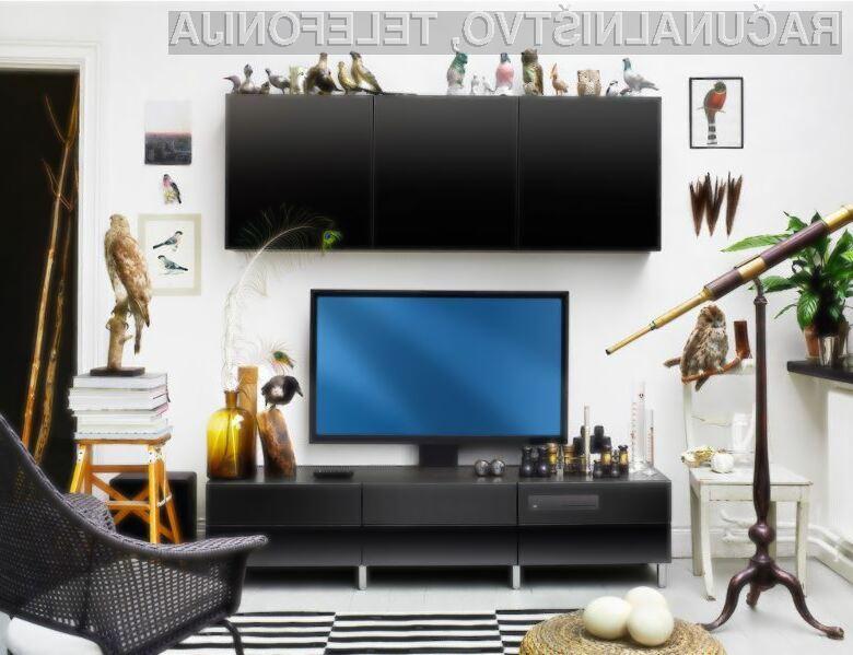 Novo pohištvo podjetja IKEA je oblikovno povsem skladno z elektronskimi napravami!