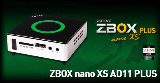 Zotac ZBOX nano XS