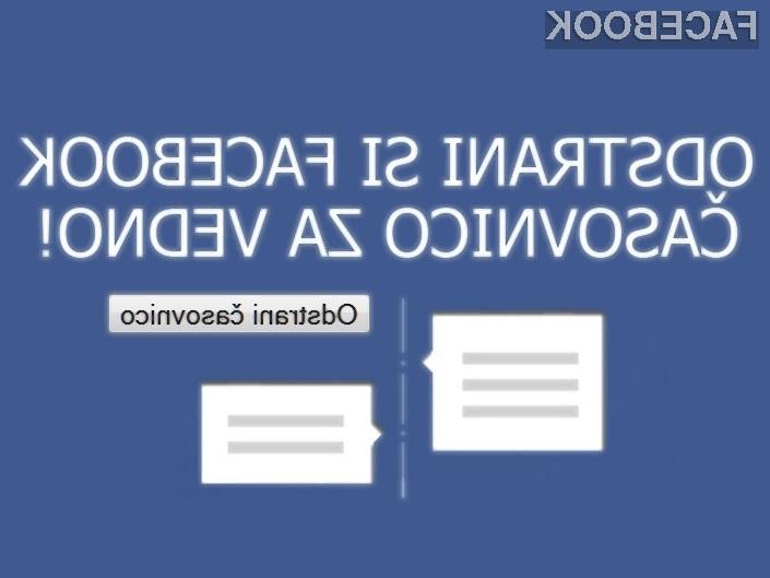 Kako odstraniti časovnico/timeline na Facebooku?