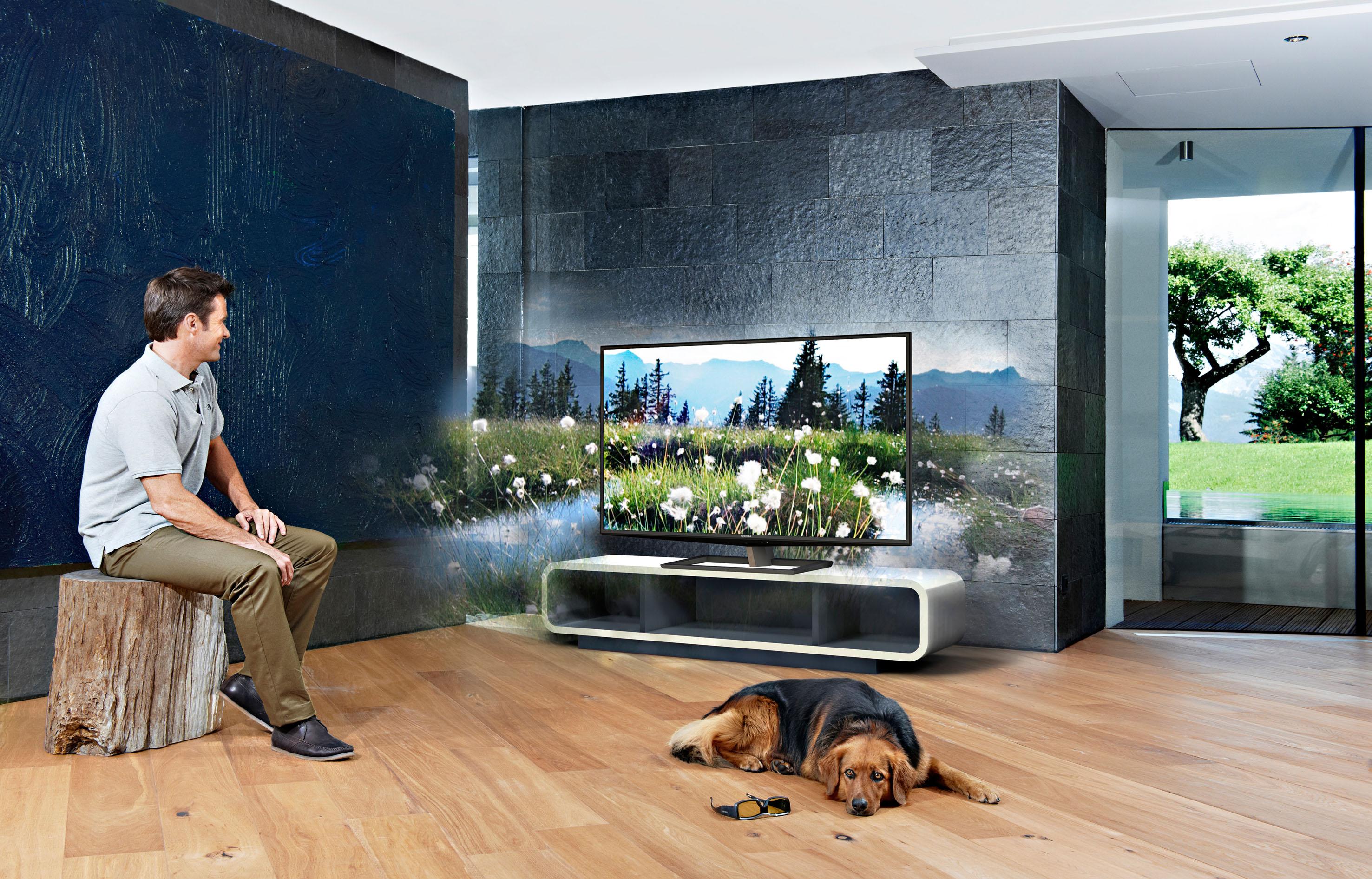 Nad televizorjem Toshiba ZL2 bodo navdušeni tudi najzahtevnejši filmofili!