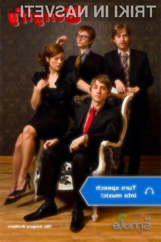 Mobilni program Songify govor na hiter in preprost način pretvorili v izvirno glasbo!