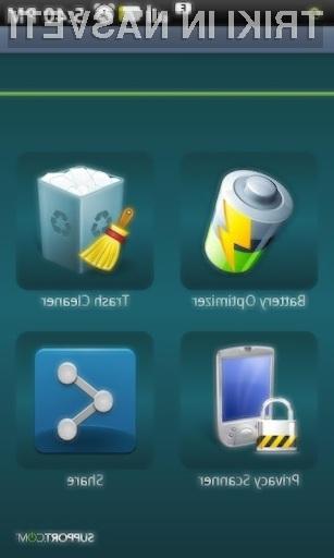 Z nekaj kliki do popolne optimizacije naprav Android!