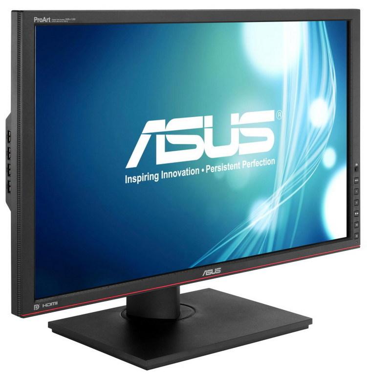 Asus je tudi tokrat v monitor implementiral številne napredne funkcije.
